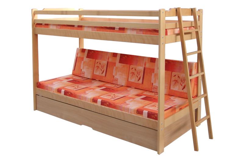 poschodova postel trio exkluziv 1